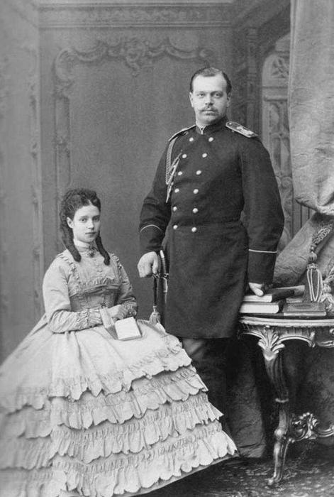 Мария Фёдоровна (Дагмар) — жена Александра III, мать Николая II