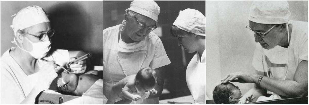 Вирджиния Апгар — врач-анестезиолог, автор шкалы Апгар