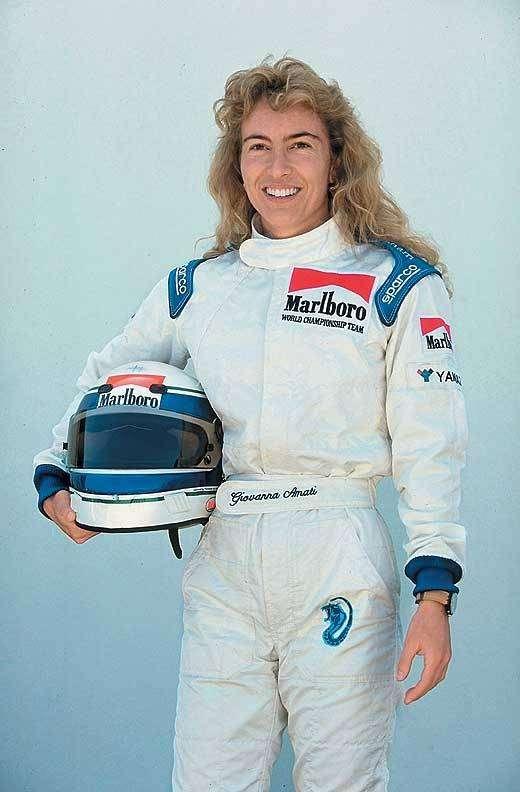 Джованна Амати — женщина в Гран-при Формулы-1