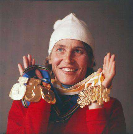 Галина Кулакова — самая титулованная лыжница СССР