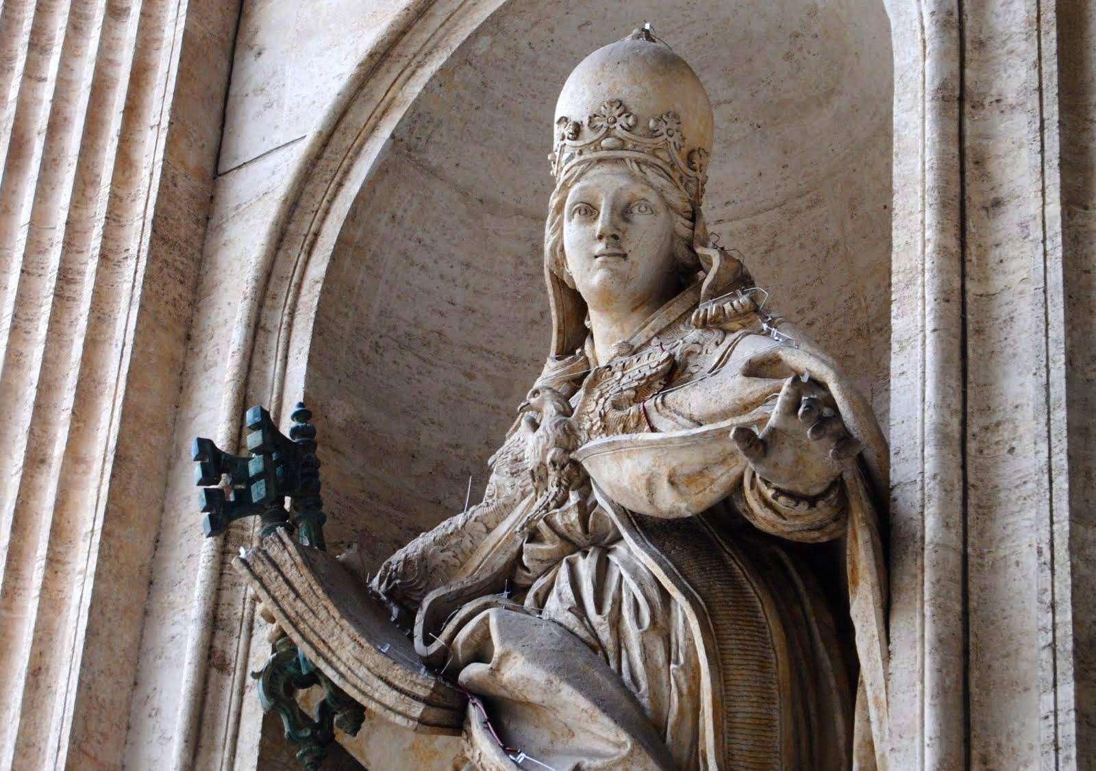 Папесса Иоанна — женщина на папском престоле