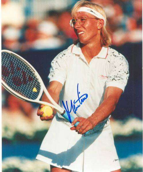Мартина Навратилова — легенда большого тенниса
