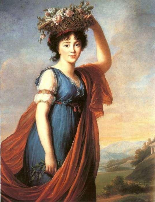 Луиза Виже-Лебрен — самая знаменитая придворная художница (более 800 полотен)