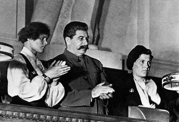 Прасковья (Паша) Анге́лина — первая трактористка СССР, звезда стахановского движения