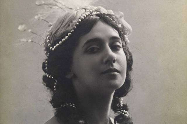 Тамара Карсавина — прославленная балерина Мариинского театра