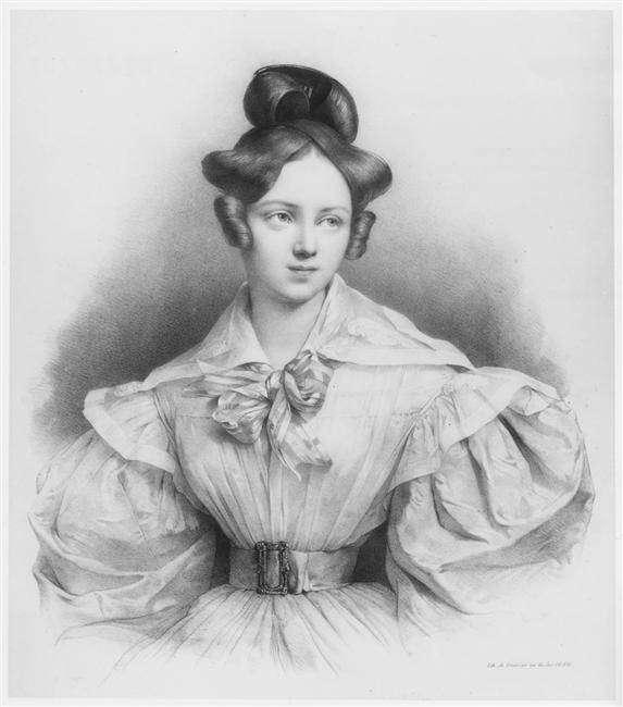 Генриетта Зонтаг — золотой голос — немецкая оперная певица