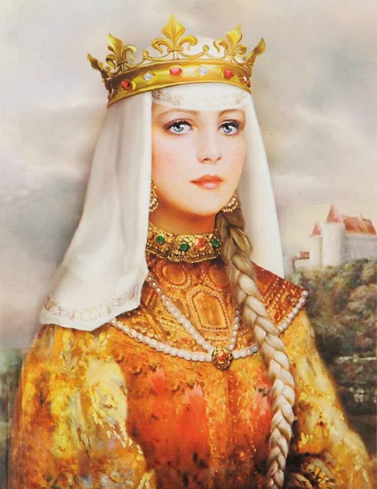 Ярославна — символ всех женщин, ждущих мужей с войны. Жена князя Игоря