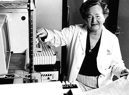 Гертруда Элайон — разработала лекарства для борьбы с лейкемией, герпесом и СПИДом