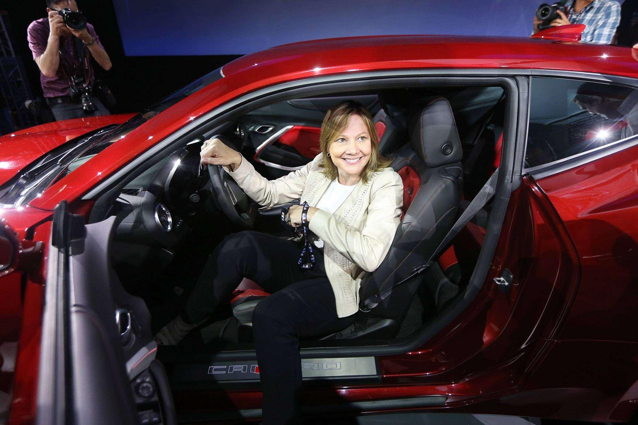 Мэри Барра — генеральный директор General Motors