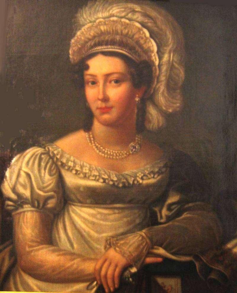 Графиня Жанетта Грудзинская — жена наследника престола Константина Павловича