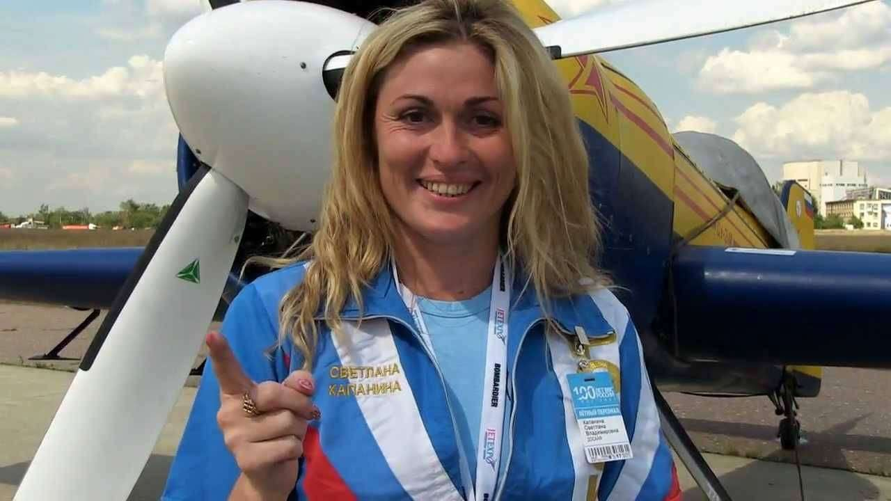 Светлана Капанина — россиянка признана лучшим пилотом столетия
