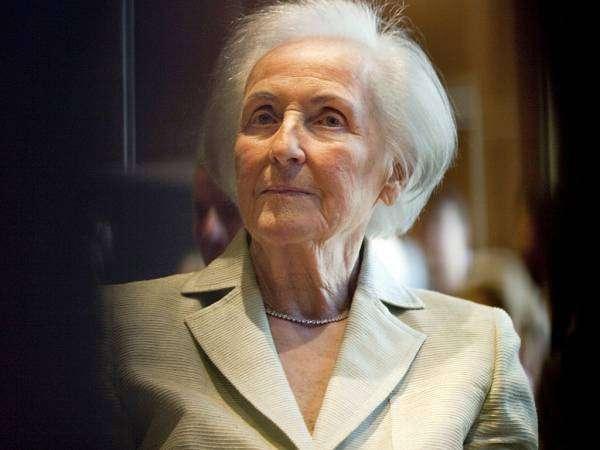 Йоханна Квандт — вдова основного акционера BMW