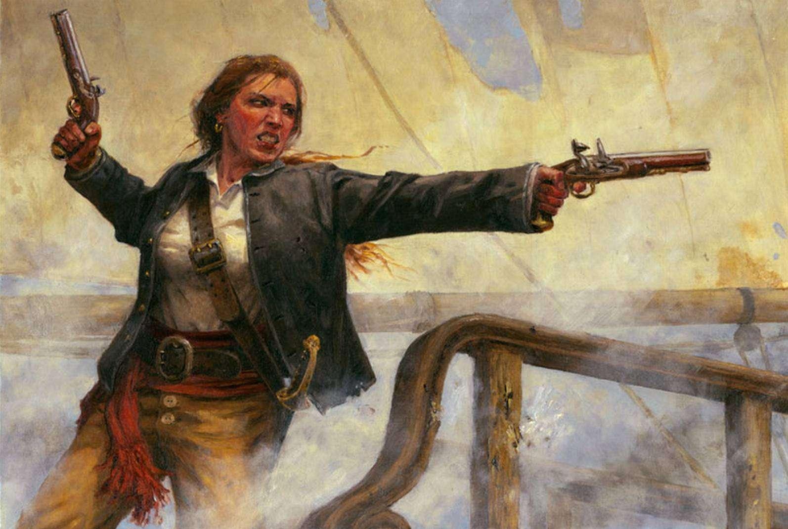 Грануаль — королева пиратов, биография