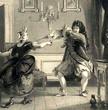 Жюли де Мопен — певица владела шпагой не хуже, чем голосом