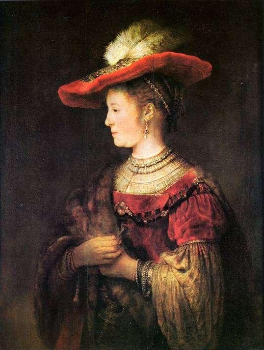 Саския ван Эйленбюрх — жена и муза Рембрандта, история любви