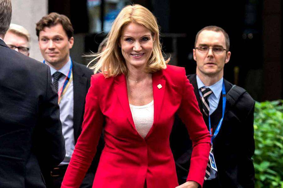 Хелле Торнинг-Шмитт — первая женщина-премьер-министр Дании