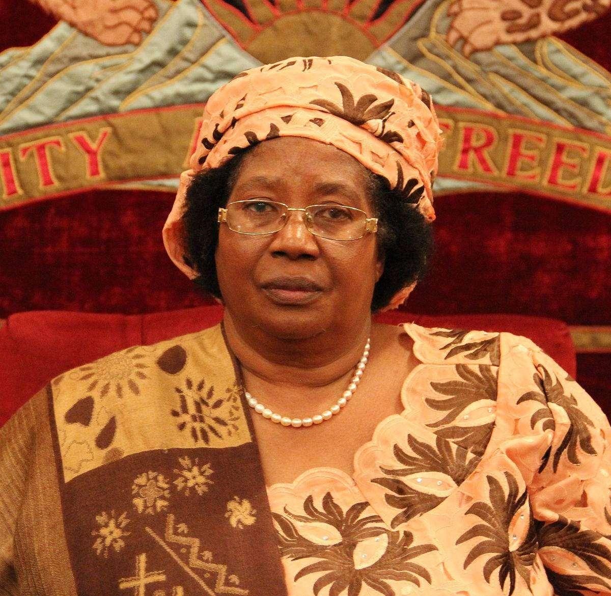 Джойс Банда — президент Малави, самая влиятельная женщина в Африке