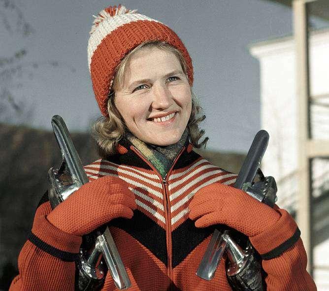 Лидия Скобликова — шестикратная олимпийская чемпионка в конькобежном спорте