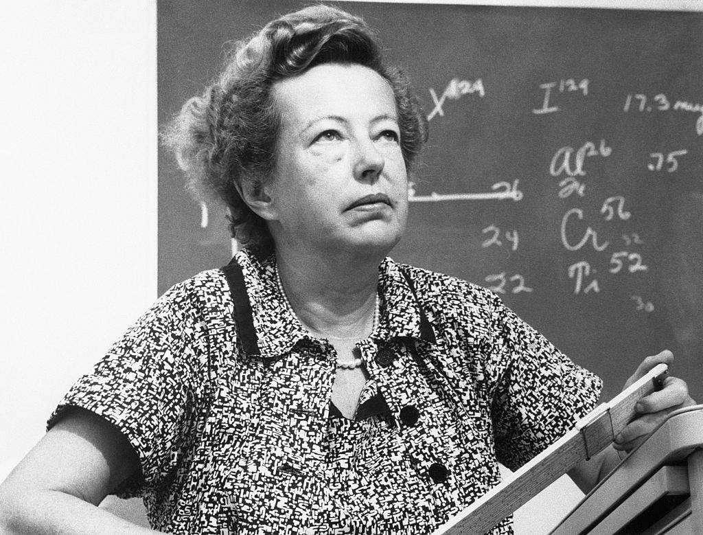 Мария Гёпперт-Майер — одна из двух женщин-лауреатов Нобелевской премии по физике