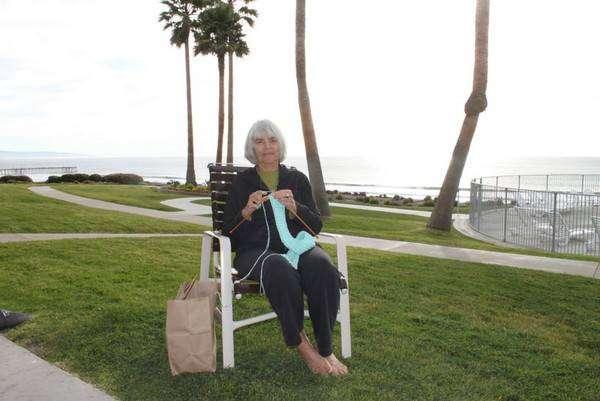 Джуди Грэм — вяжет для голливудских коногероев