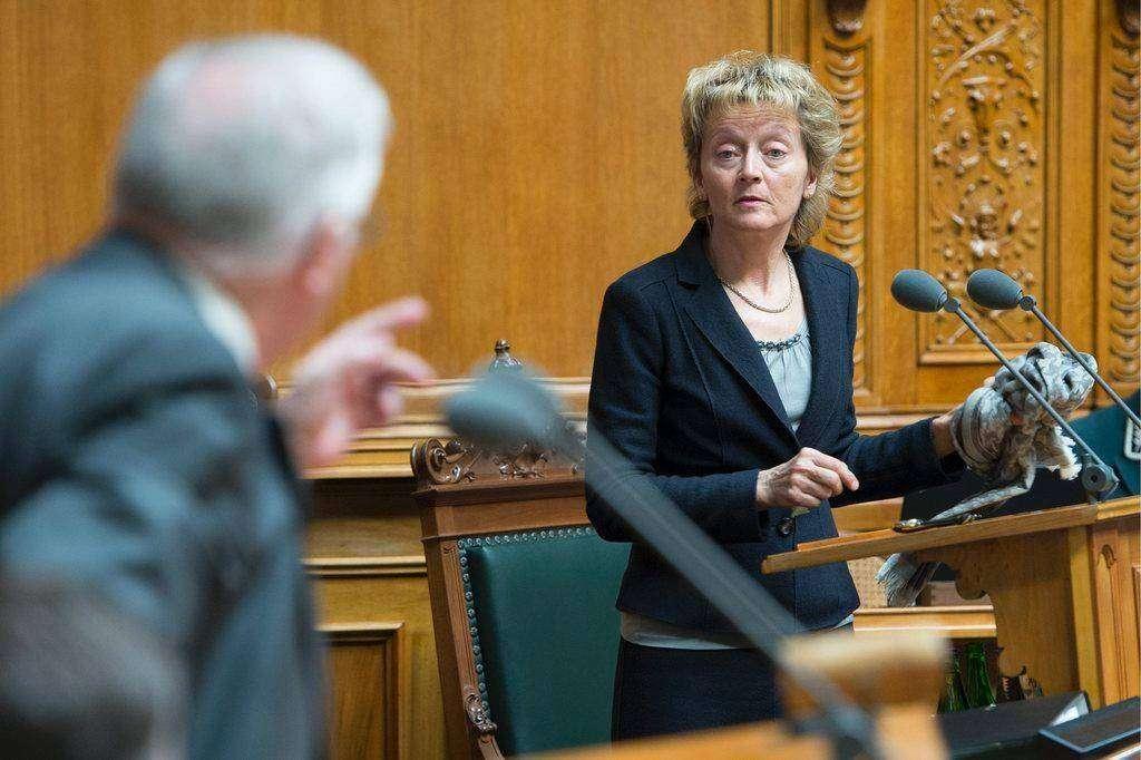 Эвелине Видмер-Шлумпф — третья женщина-президент Швейцарии