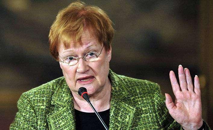 Тарья Халонен — первая женщина-президент Финляндии