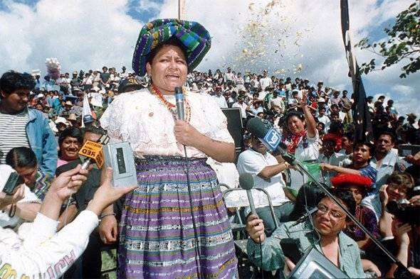 Ригоберта Менчу — правозащитница, самый молодой Нобелевский лауреат
