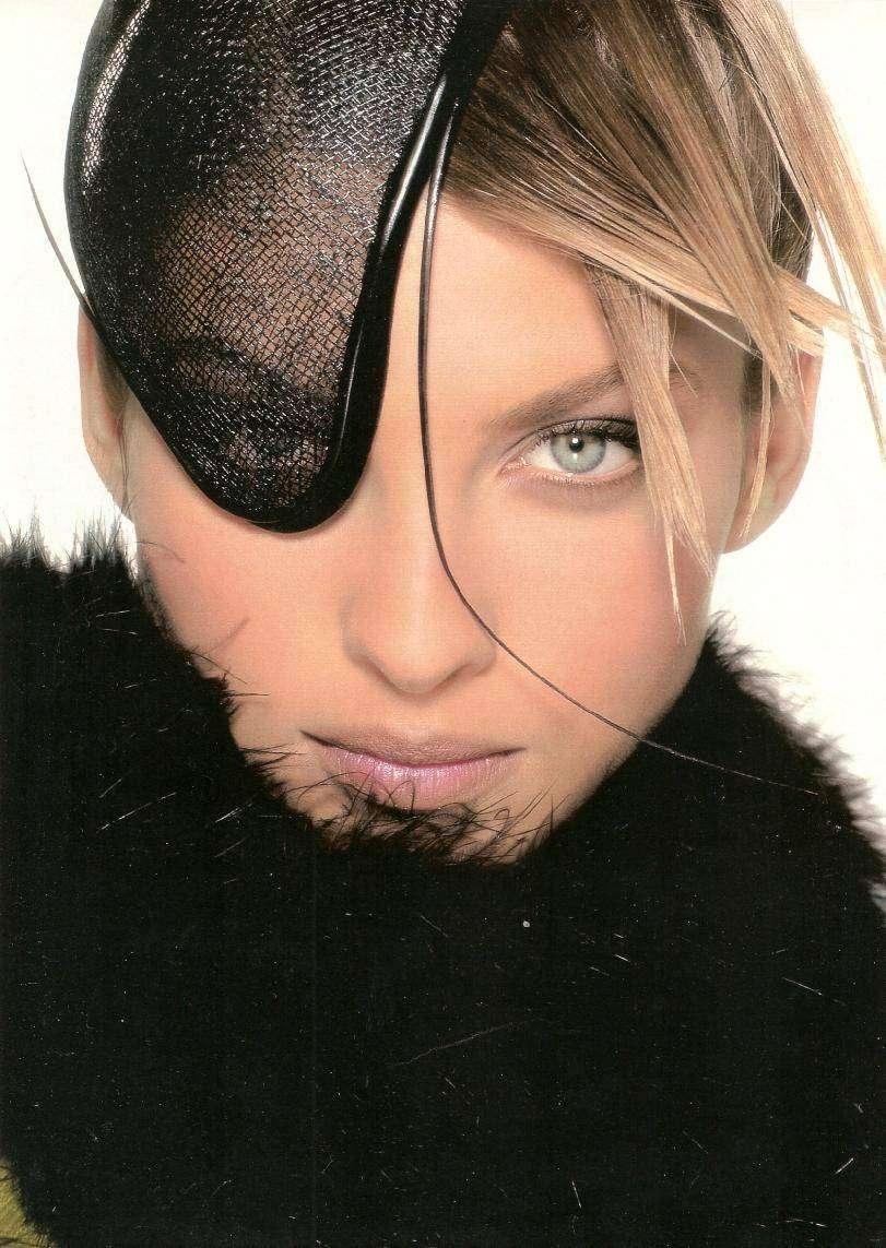 Кристина Семеновская — одна из первых русских топ-моделей