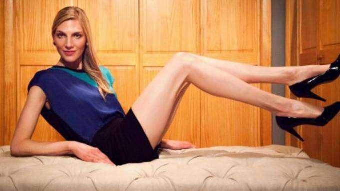 Светлана Панкратова — имеет самые длинные ноги в мире