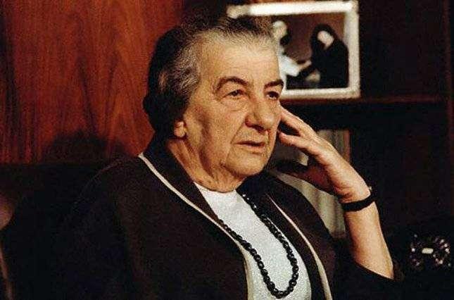 Голда Меир — самая влиятельная женщина-политик
