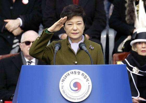 Пак Кын Хе — первая женщина-президент Южной Кореи