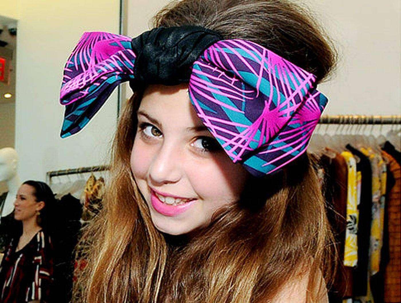 Сесилия Кассини — самый молодой дизайнер в мире