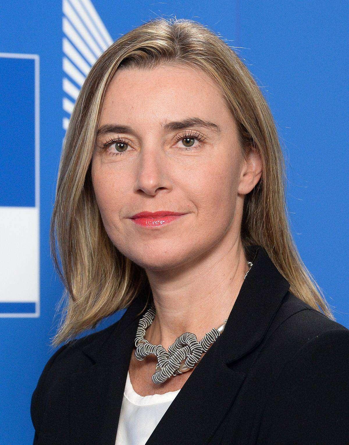 Федерика Могерини — Верховный представитель Европейского союза по иностранным делам и политике безопасности