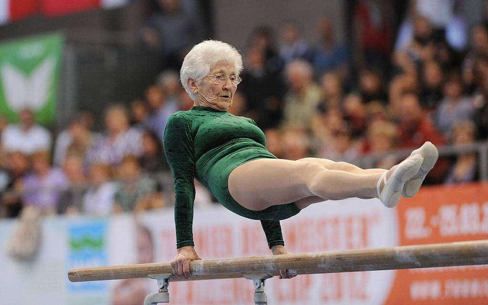 Йоханна Кваас – самая старая гимнастка мира (ФОТО)