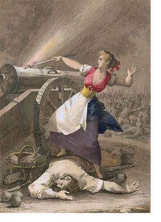 Августина Арагонская — женщина-артиллерист