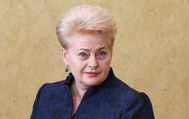 Даля Грибаускайте — первая женщина-президент Литвы.