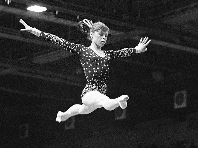 Елена Мухина — звезда советской гимнастики, биография