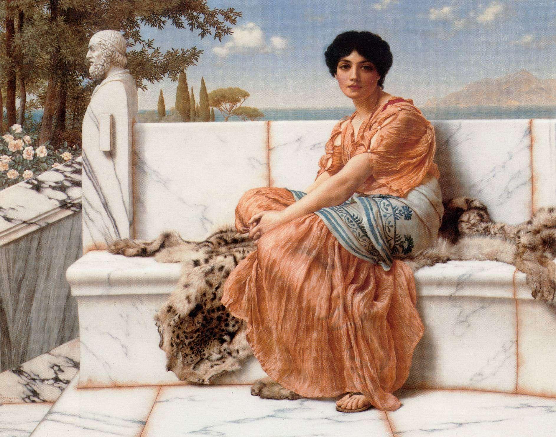 Сафо — первая воспела лесбийскую любовь