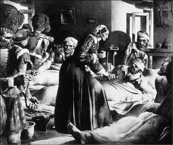 Флоренс Найтингейл создала профессию медицинской сестры