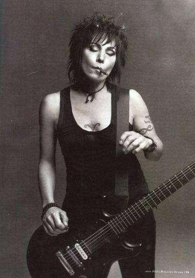Джоан Джетт — женщина в сотне величайших гитаристов всех времен
