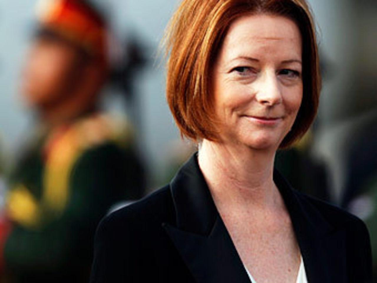 Джулия Гиллард — первая женщина-премьер-министр Австралии